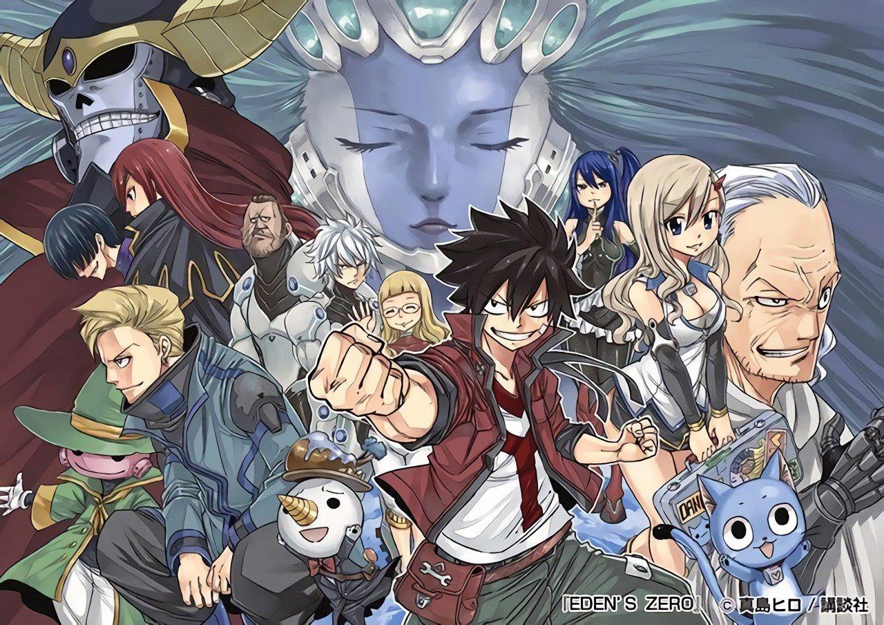 Eden's Zero, novo mangá de Hiro Mashima, será lançado simultaneamente em 5 idiomas