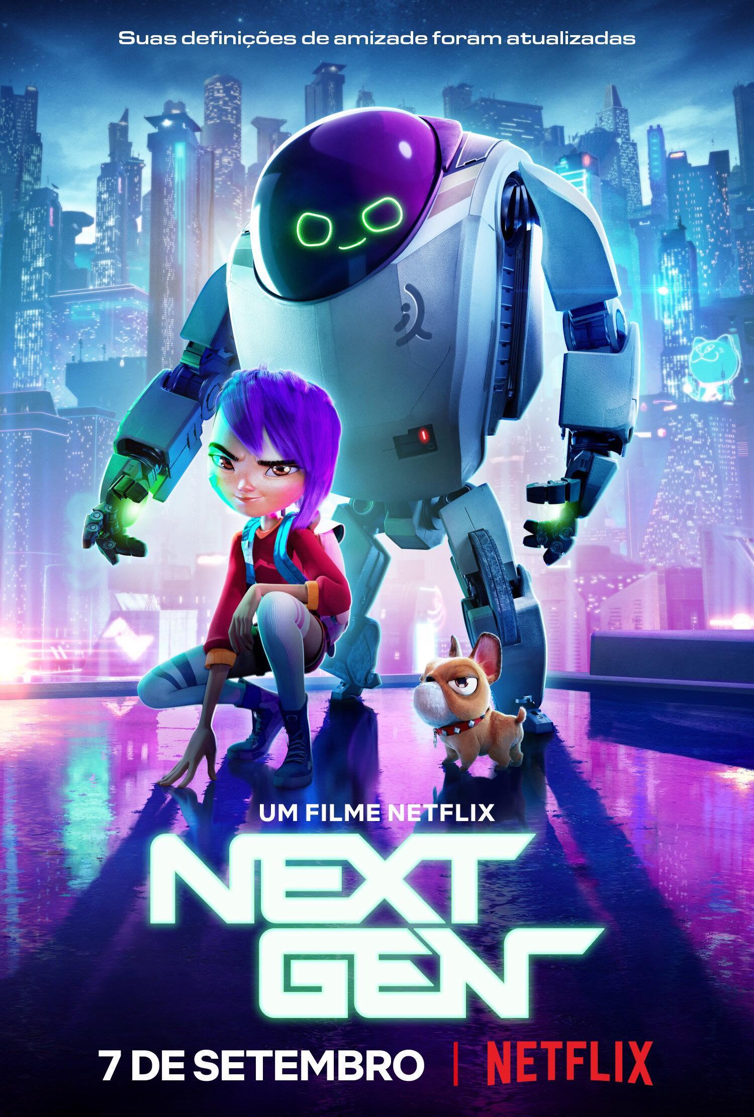 Next Gen   Confira o trailer da nova animação original Netflix