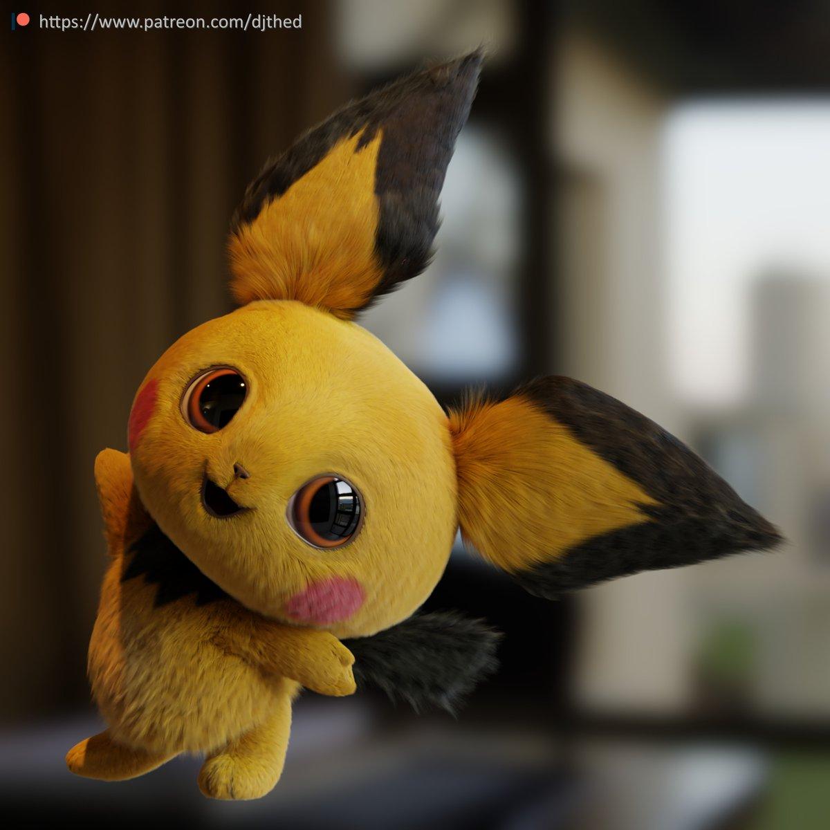 Pokémon Detetive Pikachu | Fã cria versão de Pichu em live-action