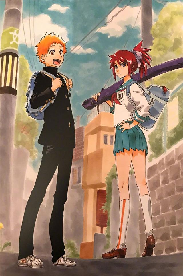 Bleach   Ilustração revela visual adolescente dos filhos de Ichigo e Rukia