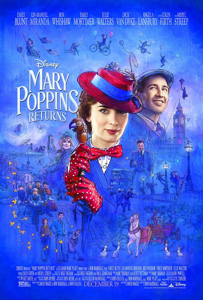 O Retorno de Mary Poppins | Disney libera trailer com trecho de música