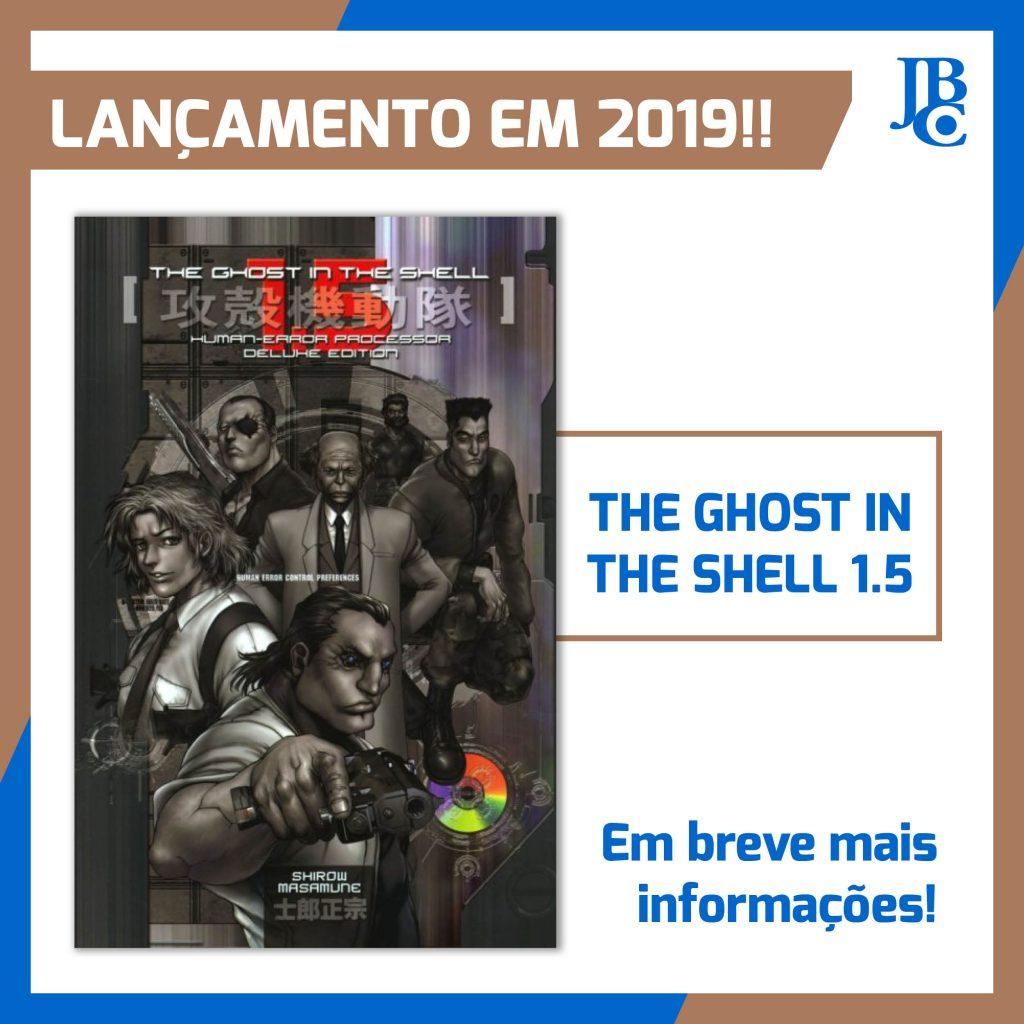 ghost in the shell 1.5 será lançado pela jbc