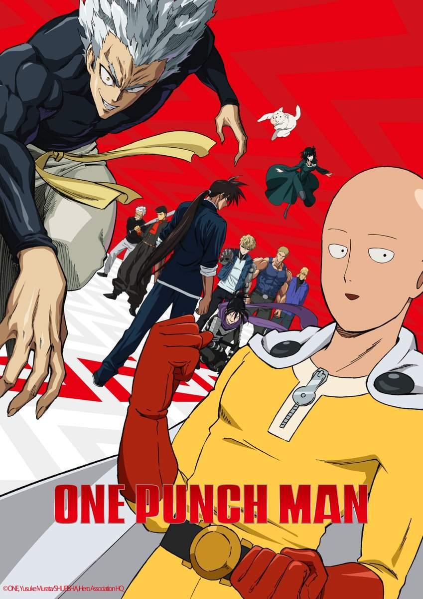 One-Punch Man   Data oficial de estreia da 2ª temporada é divulgada