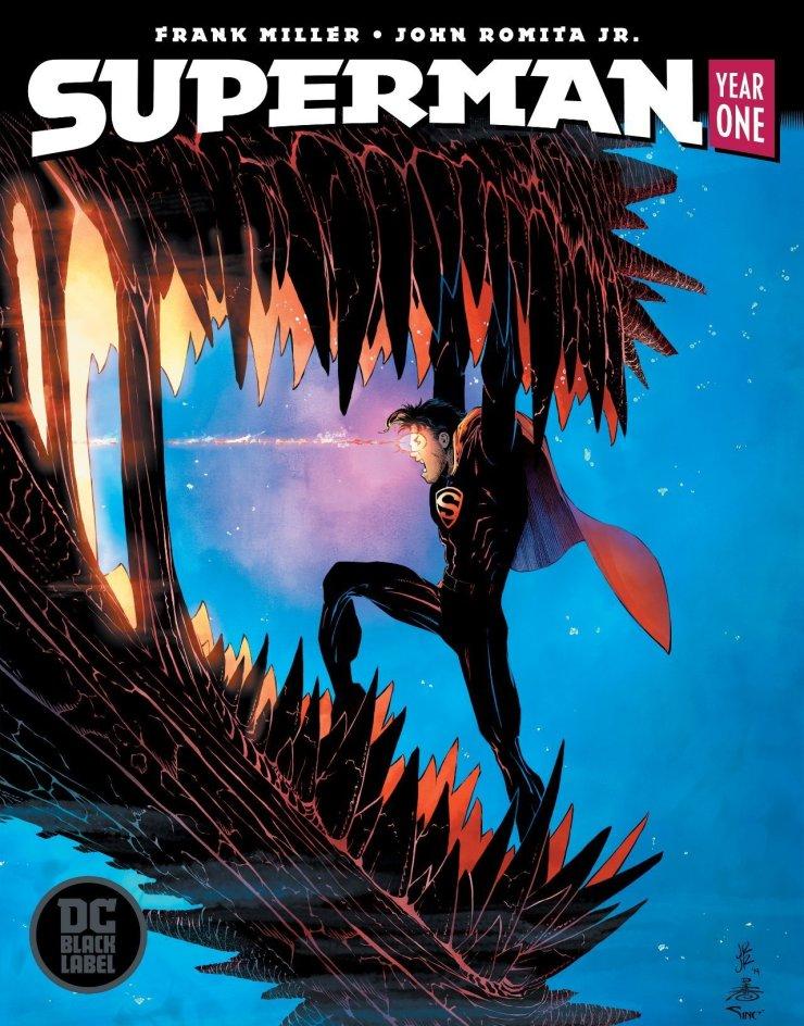 Superman: Year One | Nova HQ ganha data de lançamento e capas especiais