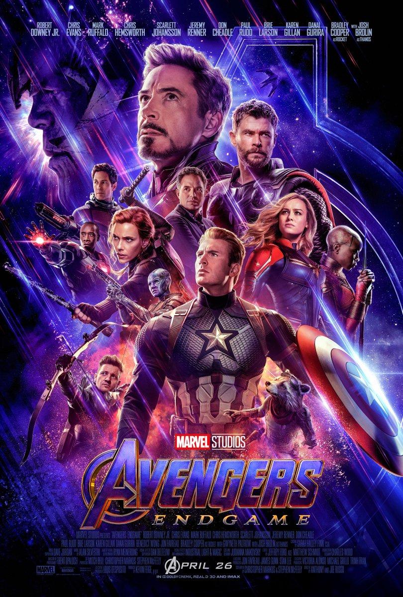 Vingadores: Ultimato | Novo poster traz Capitã Marvel ao lado do Capitão América