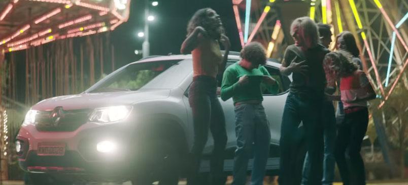 Jovens voltam pra casa em comercial da Renault com Caverna do Dragão