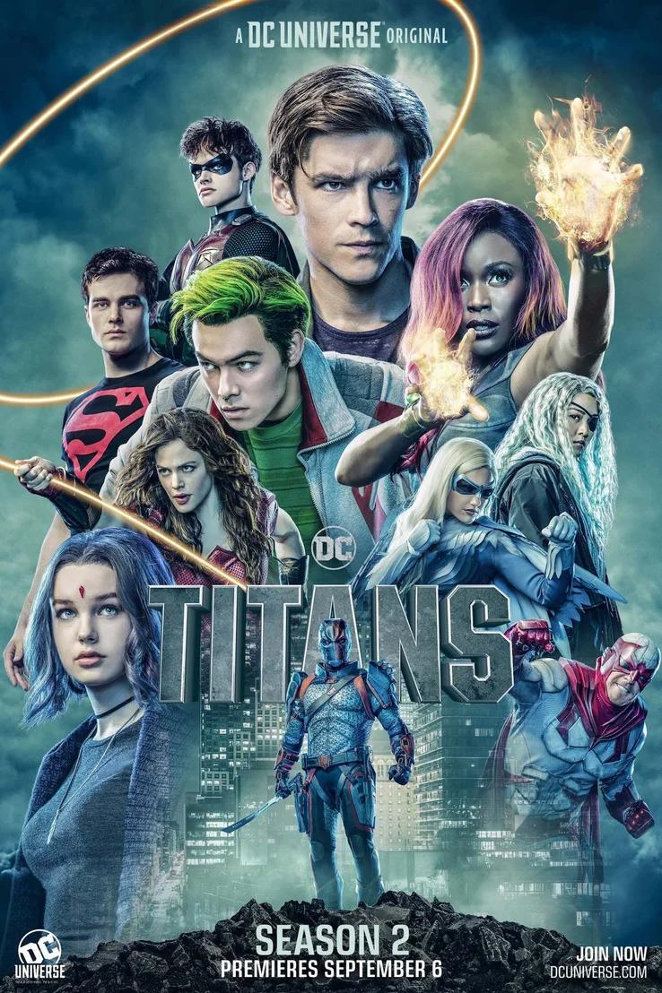 Titãs   2ª temporada ganha trailer destacando novos personagens