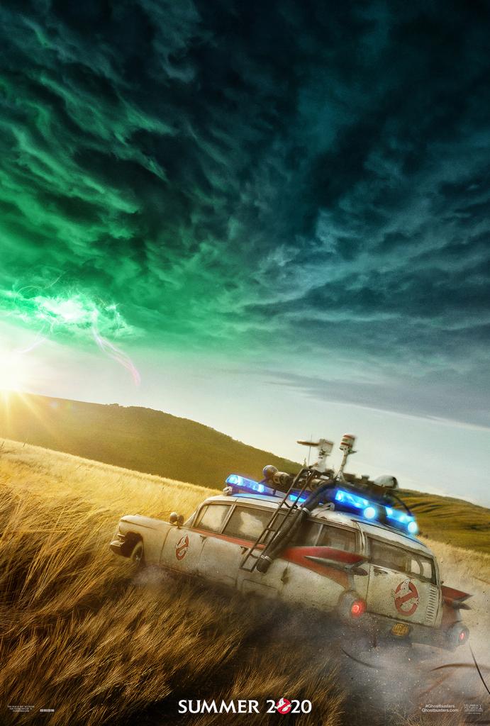 poster oficial de Ghostbusters Mais Além, sequência de Caça-Fantasmas.