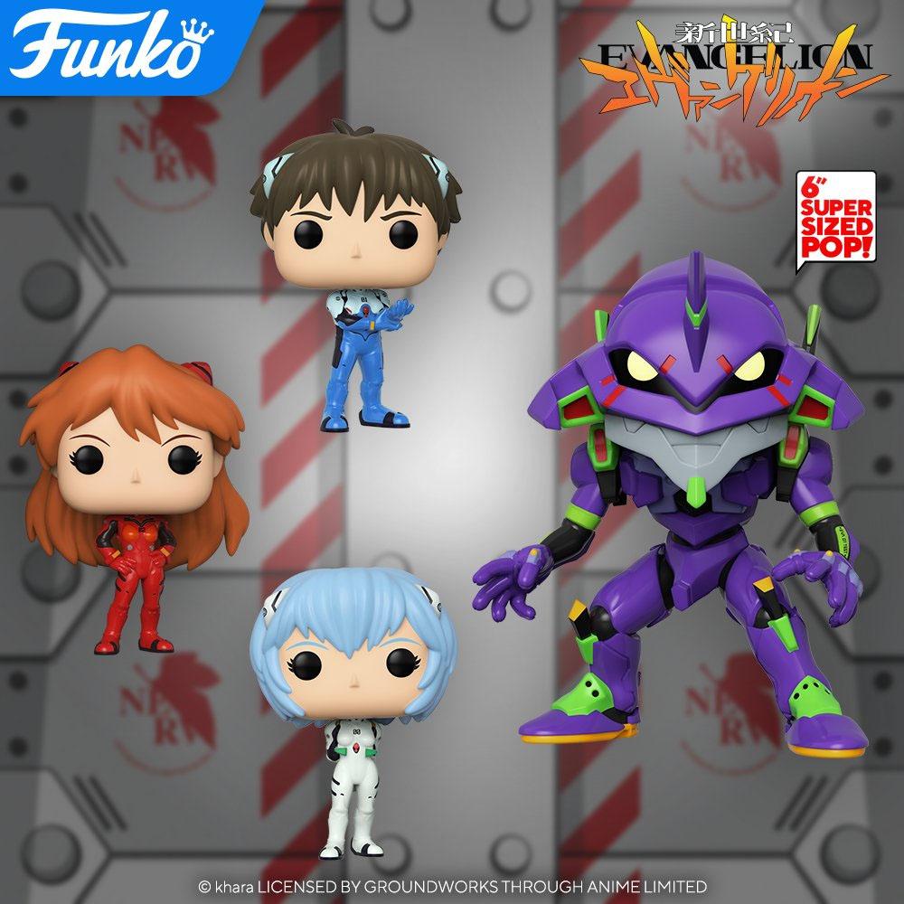 Evangelion   Novos Funko POP! baseados no anime são anunciados