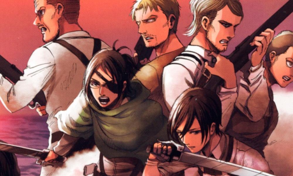 Attack on Titan   Arte da capa do volume 32 é revelada