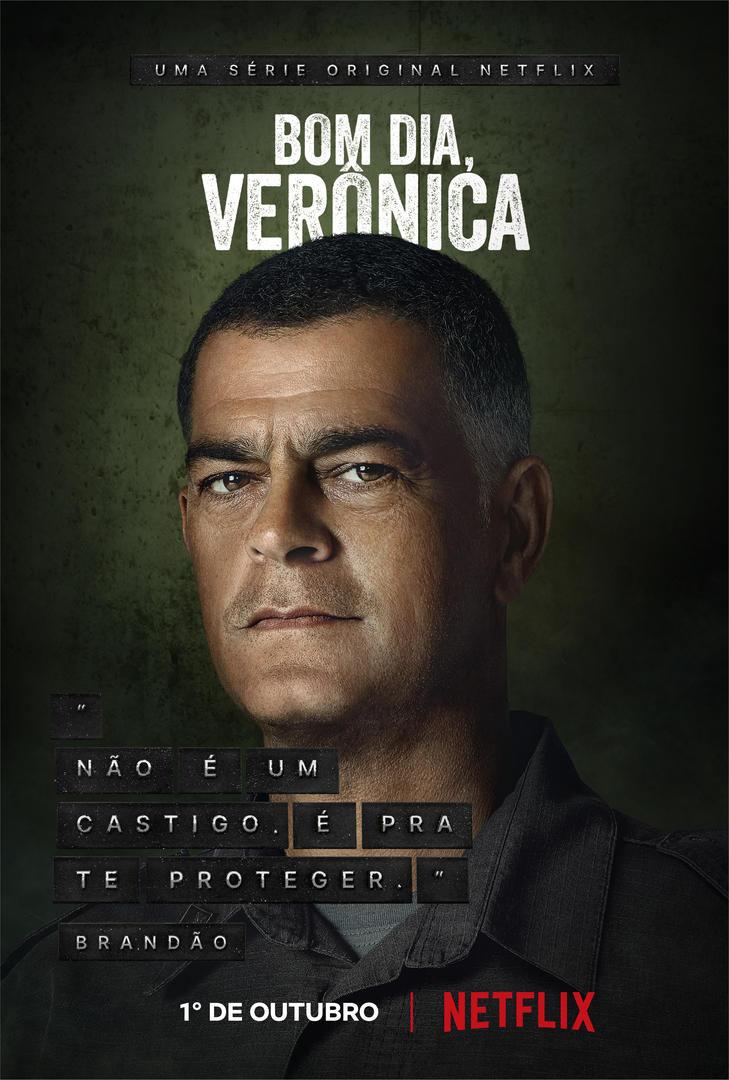 Bom dia, Verônica | Série ganha trailer oficial e posteres dos personagens