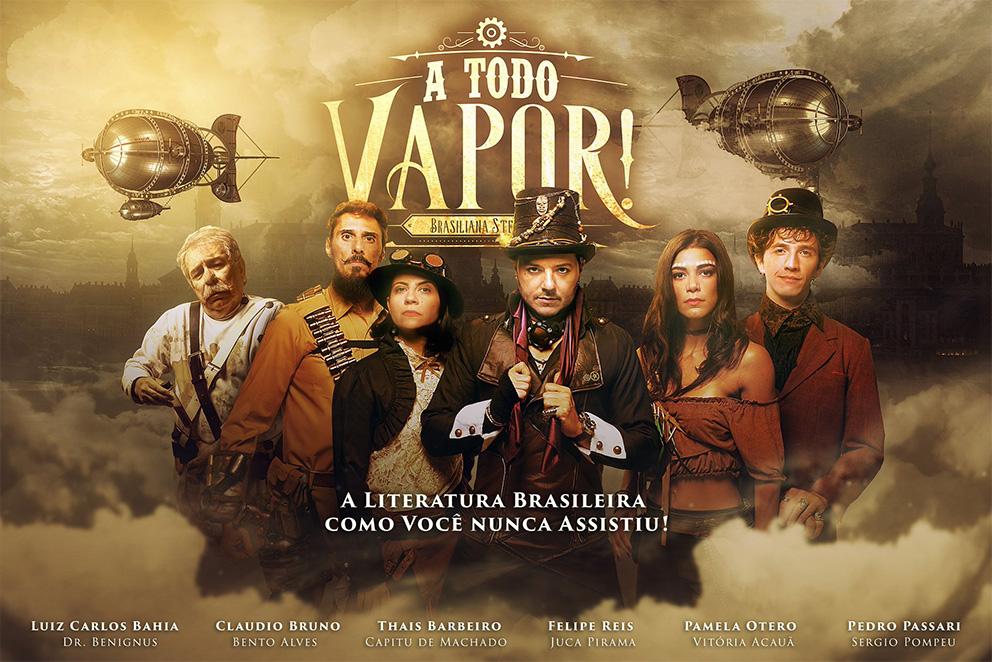A Todo Vapor!   Série steampunk brasileira estreará na Amazon Prime Video