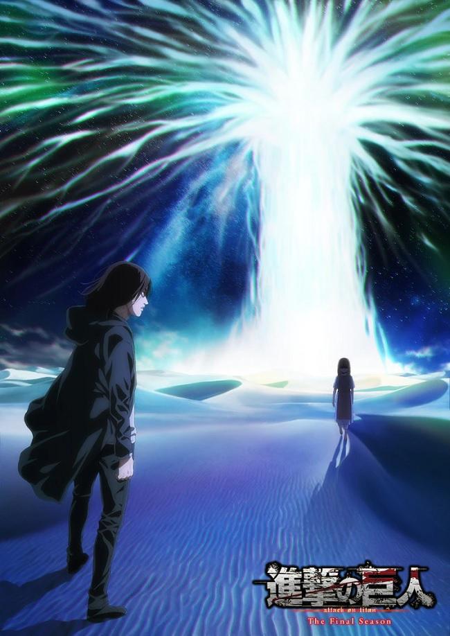 2ª parte da última temporada de Attack on Titan (Shingeki no Kyojin) ganha pôster
